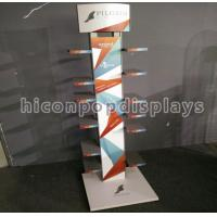 China Shoes Metal Display Racks And Stands Double Sided With 6 Layers on sale
