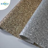 China Hot Selling Fasion Grade 3 PU Glitter Fabric wallpaper wholesale