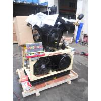 China Stationary Lubricated 15KW Air Booster Compressor Piston Type 10bar - 30bar wholesale