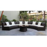 China 4 piece -weather resistant PE wicker rattan Star hotel lobby luxury sofa commercial furniture for hotel -16233 wholesale