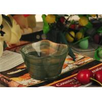 China Antique handmade decorative glass bowl candle holder Green material wholesale