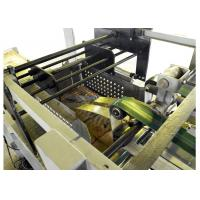 Chemicals / Food Paper Bag Making Machine With Servo System Control