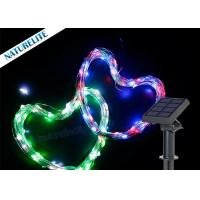 Buy cheap Christmas Cooper Wire String Solar Led Garden Lights 60led / M Waterproof Shape Light product