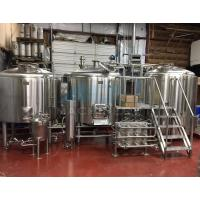 China 5bbl 500 Liters Brewery Brewhouse with Steam Direct Fire Electric Heating wholesale