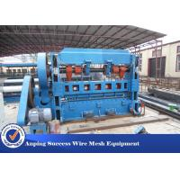 China High Efficiency Expanded Metal Mesh Making Machine Advanced Design 1m Width wholesale
