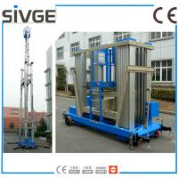 China Aluminum Alloy Vertical Man Lift , 20m Aerial Lift Platform For One Person wholesale
