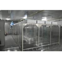 Quality Industrial Laboratory Softwall Clean Room , PC Control Class 1000 Cleanroom for sale