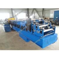 Steel Blade C Purlin Forming Machine High Speed With PLC Touch Screen