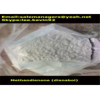 China CAS72-63-9 Raw Steroid Powders Methandienone / Dianabol Powder Medical Grade wholesale