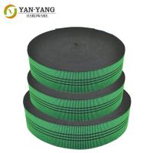 China wholesale elastic sofa belt webbing for furniture Sofa Elastic Rubber Webbing Band wholesale
