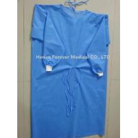 China Hot Sale Disposable CPE Plastic Gown Thumb Hole Hospital Gowns wholesale