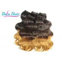 China Glam Peruvian 26 inch Ombre Remy Hair Extensions Weave With No Shedding wholesale