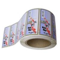 China Die Cut White PVC Self Adhesive Labels With Pantone Color Eco Friendly wholesale