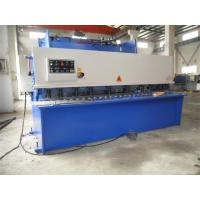 China CNC Hydraulic Swing / Guillotine Beam Metal Shearing Machine For Construction Field wholesale