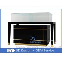 Quality High End Glass Jewelry Display Cases For Supermarket Or Retail Store for sale