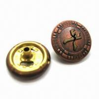 China Fashion Snap Button, Made of Brass, Measuring 16.7mm wholesale