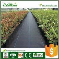 China Plastic weed barrier for garden landscape fabric geotextile Woven Geotextiles wholesale