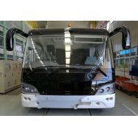 China 51 Passenger 4 Stroke Diesel Engine Airport Limousine Bus 4 doors 2.7m width mini bus wholesale