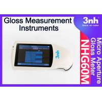 China Micropore Digital Paint Gloss Measurement Instruments NHG60M 60 ° Touch Screen For Film Bamboo wholesale