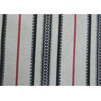 China Home Decor Black And White Striped Outdoor Fabric Upholstery Material wholesale