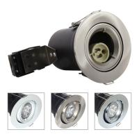 Buy cheap China GU10 Aluminium Centre Tilt LED Fire Rated Downlight - Satin Nickel Color from wholesalers