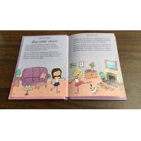 China Children English Education Hardbound Book Printing With Gold Foil For Story Books wholesale