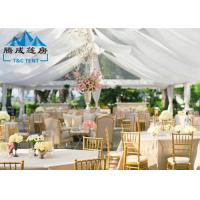 China 1000 Seater Wedding Event Tents With White PVC Walling 7.2M Ridge Height wholesale