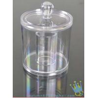 China acrylic cosmetic organizer boxes wholesale