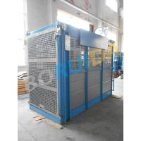China 2000kg Double Car Industrial Elevators Construction Material Handling Equipment wholesale
