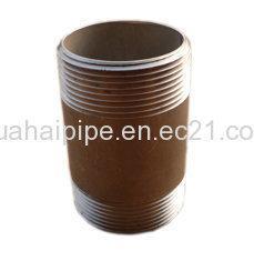 China Galvanized Carbon  Steel  Pipe Nipple wholesale