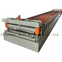 China Galvanized Metal Roof Panel Roll Forming Machine Production Line on sale