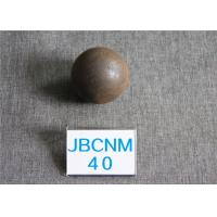 China Long Working Life 63HRC Surface Hardness Hot Rolling Steel Balls for Gold Mines / Coal Chemical Industry wholesale