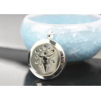 China Stainless Steel Essential Oil Jewelry Diffuser Necklace Locket Pendant wholesale