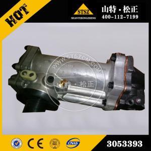 China Cummins engine spare parts, NTA855 oil cooler 3053393, Shantui bulldozer parts wholesale