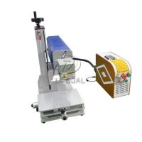 Quality Mini Glasses Lens Marking Machine Co2 RF Laser Marking Machine 30W for sale