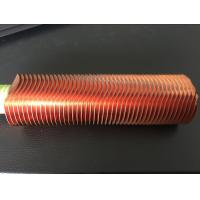 China CuNi 90/10 Shape Type Heat Exchanger Fin Tube OD25.4 X 1.5WT L Finned Copper Tubing wholesale