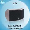 Buy cheap K24 Dual 4.5′ Full Range Speaker from wholesalers