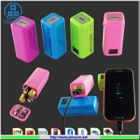 China AA battery Power bank portable charger for emergency use wholesale