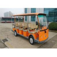China 5.0KW Motor 14 Seater Electric Shuttle Bus Sightseeing Car With Pure Electric Power on sale
