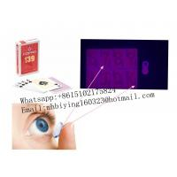 Buy cheap Brazil Copag 139 red paper marked cards for poker cheat/uv contact lenses/cheat in casino/magic trick/omaha texas cheat from wholesalers