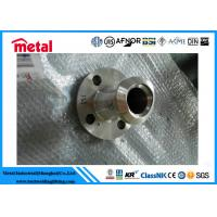 China SO RF Stainless Steel Flange ASTM A182 1.1/2 40S 600# A182 F44 B16.5 Customized wholesale