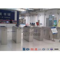 China 2 Ways Outdoor Flap Barrier Gate Barcode System Controlled Access Turnstile wholesale