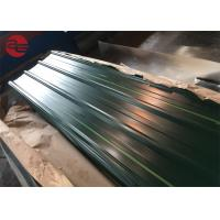 China Astm A653 Corrugated Roof Sheets With Zinc Coating 40 - 200g / M2 Roof wholesale