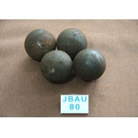 China Surface hardness  58-61hrc  Hot Rolling Steel Balls Grinding Media Steel  B3 D80mm wholesale