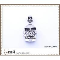 China 316 stainless steel pendant with human skull shape H-L2074 wholesale