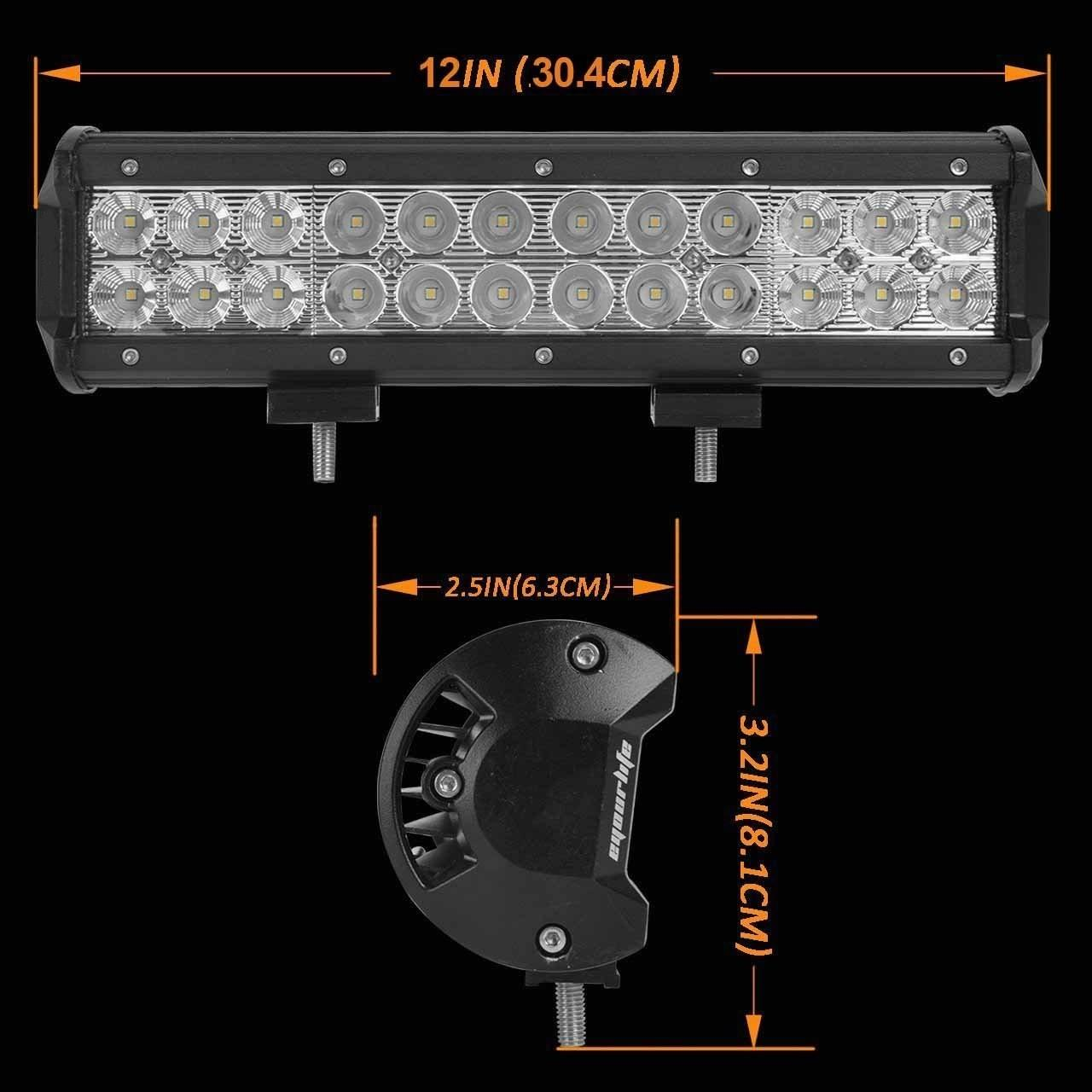 China Aluminum Material Auto LED Mini LED Light Bars 3W/PCS Cree LEDS Work Light Bar IP 68 wholesale
