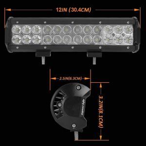 China Aluminum Material Auto LED Mini LED Light Bars 3W/PCS Cree LEDS Work Light Bar IP 68 wholesale
