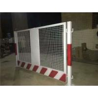 China Foundation Pit Protection Construction Site Fencing , Flexible Temporary Construction Fence on sale