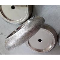 Buy cheap 127mm Electroplated CBN Grinding Wheels for band saw / CBN Sharpening Wheels High Efficient from wholesalers