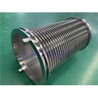 China 300mm Length Wedge Wire Filter Elements 178mm Diameter 0.05mm Slot ISO9001 wholesale